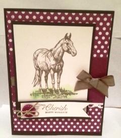 Horse april