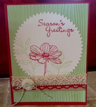 Seasons greeting