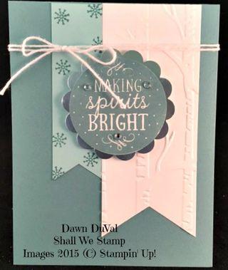 Making spirtits bright