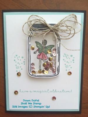 Joan bday fairy card