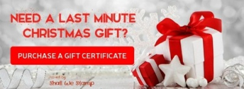 Gift certificate holidays